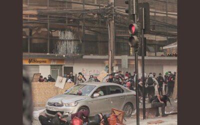 El masivo atropello en Antofagasta que involucra a un carabinero.