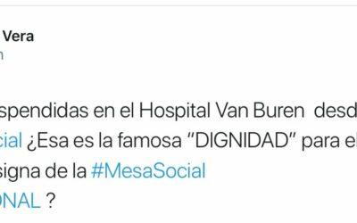 Marido de diputada RN asegura que 12 mil cirugías fueron suspendidas en el Van Buren