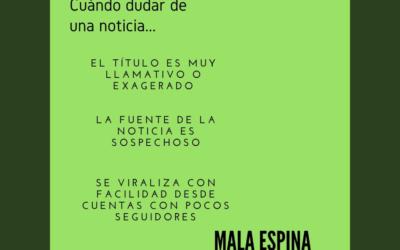 Academia Mala Espina: Kit de sobrevivencia ante la desinformación