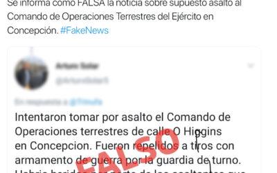 Asalto al Comando de Operaciones Terrestres del Ejército en Concepción