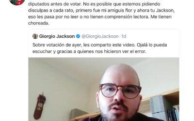 """Camila Vallejo: """"Mandaremos un proyecto de ley anti errores que avispe a los diputados antes de votar"""""""