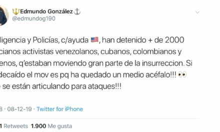 El alarmante tuit de un almirante (R) podría llegar a la Fiscalía