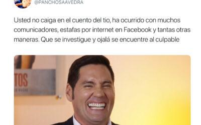 Usted no caiga: Se hacen pasar por Pancho Saavedra para estafa a mujer en Coyhaique