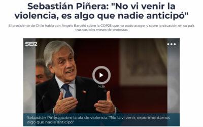 Las preguntas que deja la entrevista a Piñera en medio español