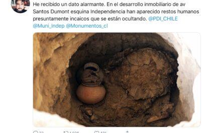 Panelista de TV asegura que encontraron restos humanos incaicos en Independencia