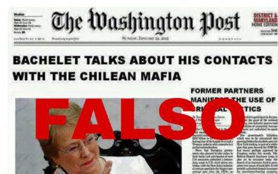 Resumen de la semana: Montaje en la catedral, falsa portada de Bachelet y la foto de un ex futbolista acusado de terrorista