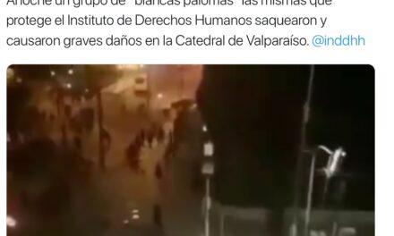 Los agresivos mensajes durante el estallido social de Percy Marín, el marido de la diputada Camila Flores