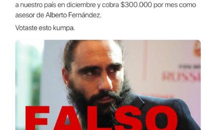 La foto en que aseguran que ex seleccionado argentino es integrante de Hezbollah