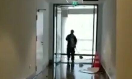 Sí, el recién inaugurado Hospital Felix Bulnes se inundó, pero no por la lluvia