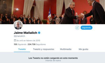 Mañalich desaparece de las redes sociales: elimina su cuenta de Twitter tras amenazas