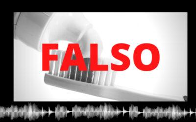 Es falso que la pasta dental ayude a eliminar el coronavirus como asegura video en redes