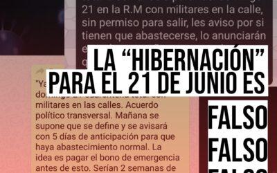 """Es falso que Santiago entrará en """"hibernación"""", como se viralizó en WhatsApp"""