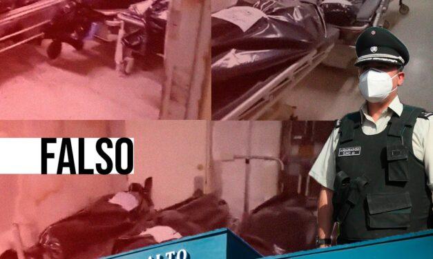 Falso: Video que muestra bolsas con cadáveres no corresponde a la cárcel de Puente Alto