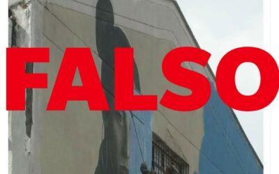 Mural borrado por soldados no corresponde a Chile