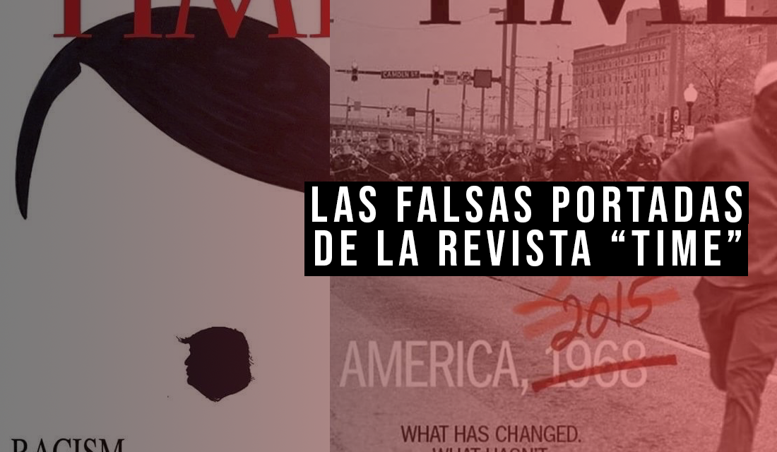 """Las portadas montaje de """"Time"""" que se han hecho virales estos dias"""