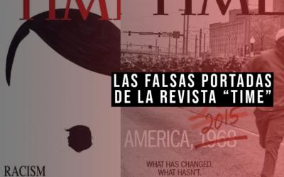 Las portadas montaje de «Time» que se han hecho virales estos dias