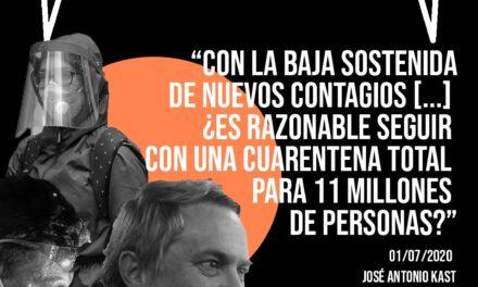 El Detector: José Antonio Kast, de #cuarentenatotalsantiago a #nomascuarentena