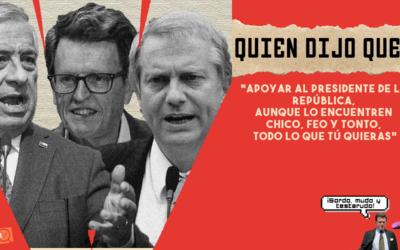 #QuiénDijoQué 1era semana de julio