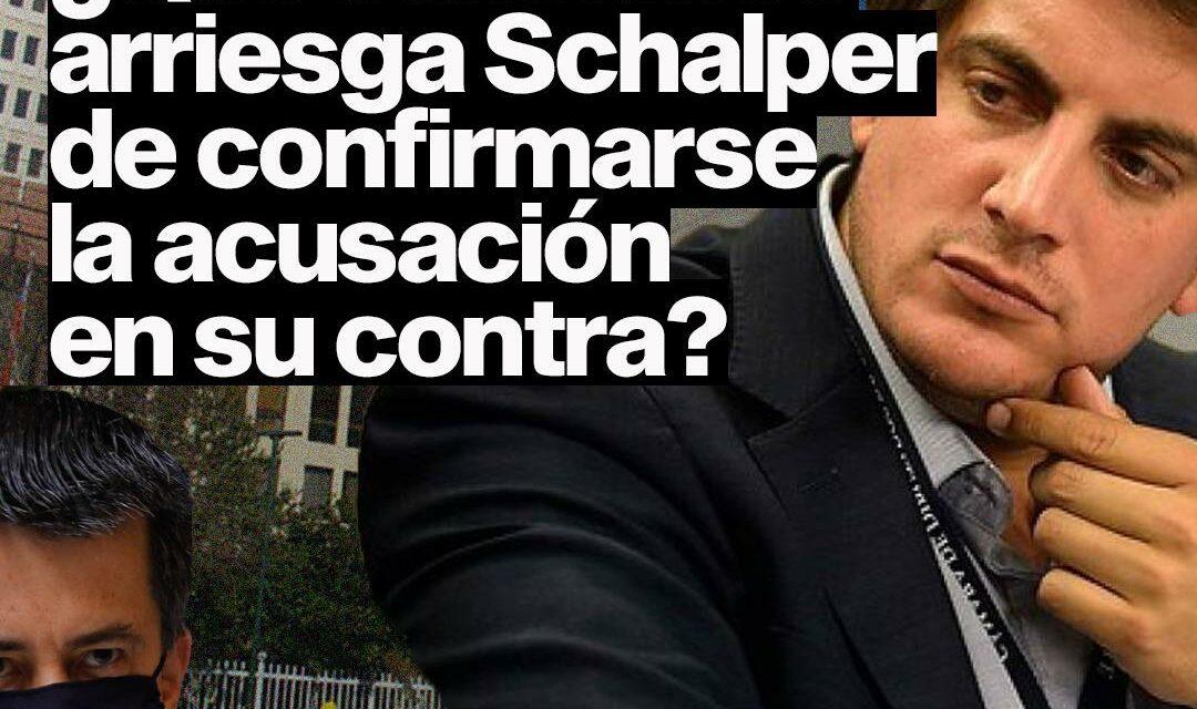 Denuncia contra Schalper: Qué sanciones arriesga de confirmarse la acusación en su contra