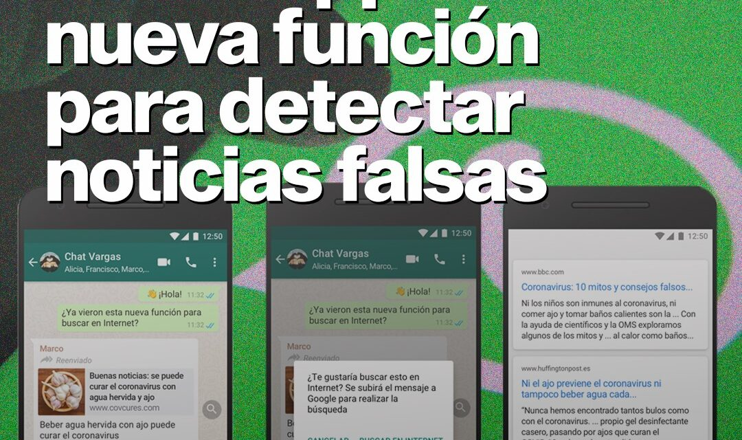 Whatsapp lanza nueva función para detectar noticias falsas