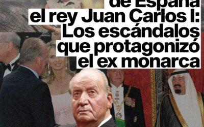 Por qué huyó de España el rey Juan Carlos I: los escándalos que protagonizó el ex monarca