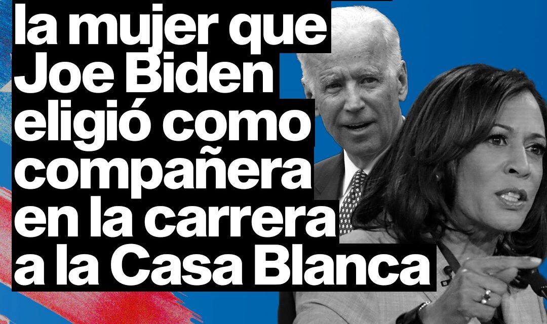 Kamala Harris: la mujer que Joe Biden eligió como compañera en la carrera a la Casa Blanca