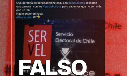 Video sobre un hackeo al Servel es falso