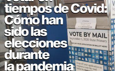 Votar en tiempos de CoVid: cómo han sido las elecciones en medio de la pandemia