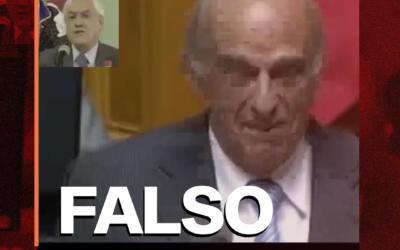 Es falso el video en que un ministro suizo se ríe de Piñera