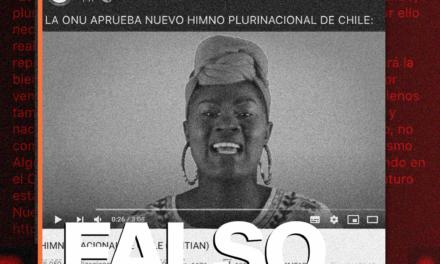 Es falso que la ONU aprobó un nuevo himno plurinacional de Chile