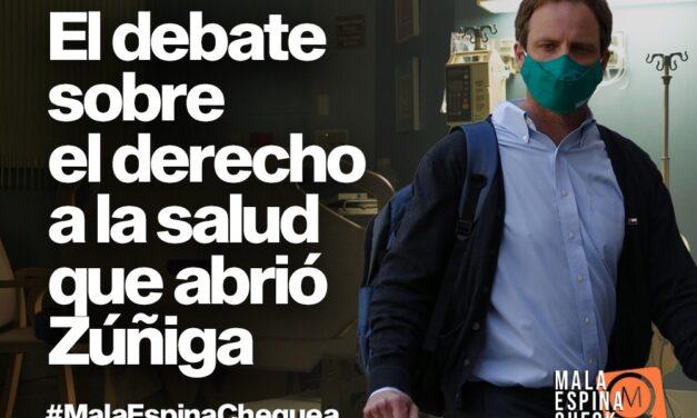 El debate sobre el derecho a la salud que abrió el subsecretario Zúñiga