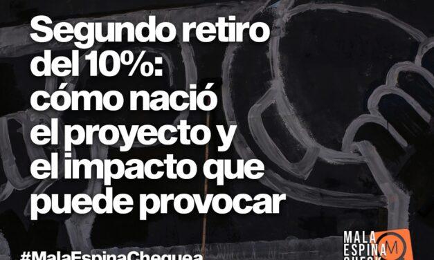 Segundo retiro del 10%: cómo nació el proyecto y el impacto que puede provocar