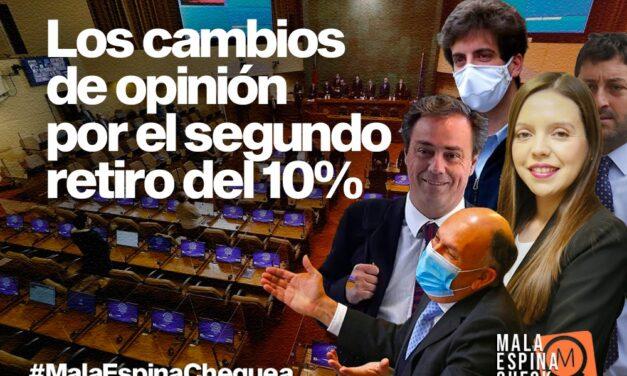 Schalper, Coloma y Camila Flores: los diputados oficialistas que cambiaron de opinión para el Segundo retiro del 10%
