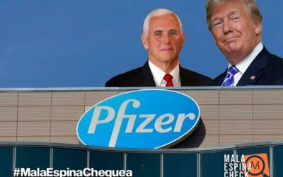 Estados Unidos no colaboró económicamente en la investigación y desarrollo de la vacuna de Pfizer y BioNTech contra el Covid-19