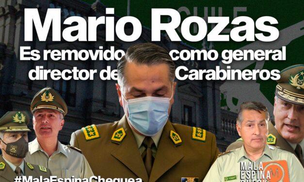 Mario Rozas es removido como general director de Carabineros tras baleo de uniformados a menores en hogar del Sename
