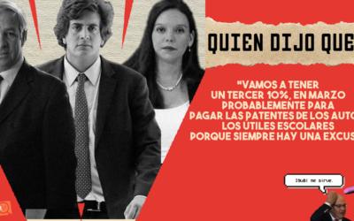 #QuiénDijoQué… 2da semana de noviembre