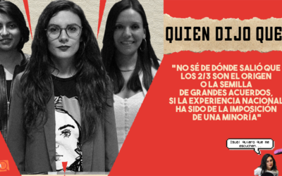 #QuiénDijoQué… 3era semana Noviembre