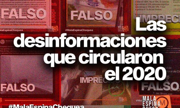 Anuario: Las desinformaciones que circularon el 2020