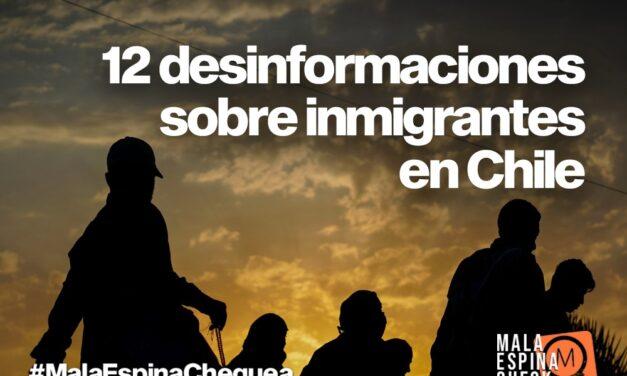 12 desinformaciones sobre inmigrantes en Chile