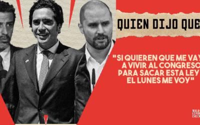 #QuiénDijoQué… 5ta semana de Diciembre