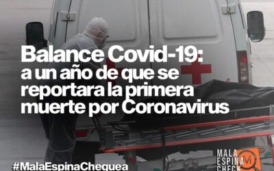 Balance Covid-19: a un año de que se reportara la primera muerte por coronavirus