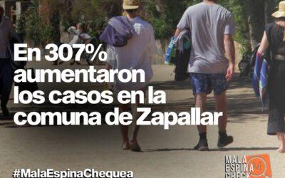 En 307% aumentaron los casos en la comuna de Zapallar