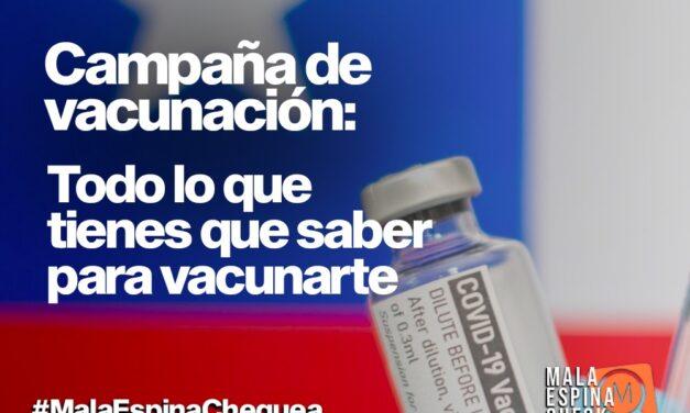 Campaña de Vacunación: Todo lo que debes saber para vacunarte