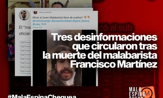 Tres desinformaciones que circularon tras la muerte del malabarista Francisco Martínez