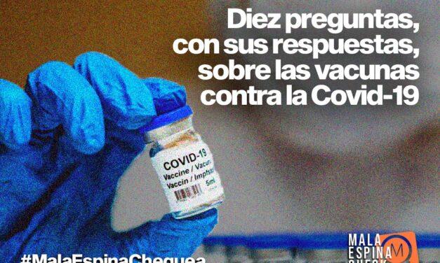 Diez preguntas, con sus respuestas, sobre las vacunas contra la Covid-19
