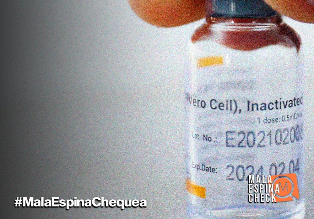 Vacuna de Sinovac no está relacionada al aumento de casos de Covid-19