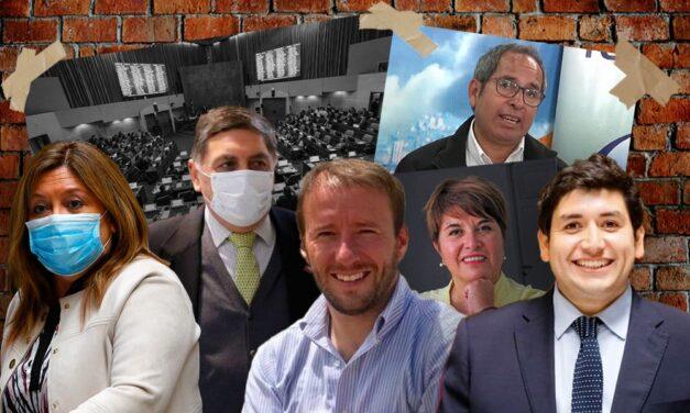 Estos son los 10 parlamentarios que llegaron elegidos a dedo al Congreso como reemplazantes