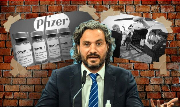 """Cafiero, sobre Pfizer: """"30 mil vacunas llegaron a Chile, y después por eso tuvo que salir a comprar de urgencia"""""""