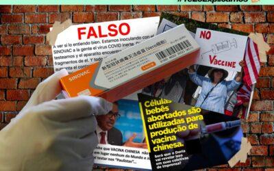 Las desinformaciones que han surgido sobre la vacuna china producida por Sinovac