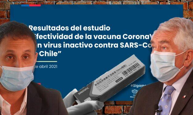 Efectividad de Coronavac en Chile: 67% a 14 días de la segunda dosis